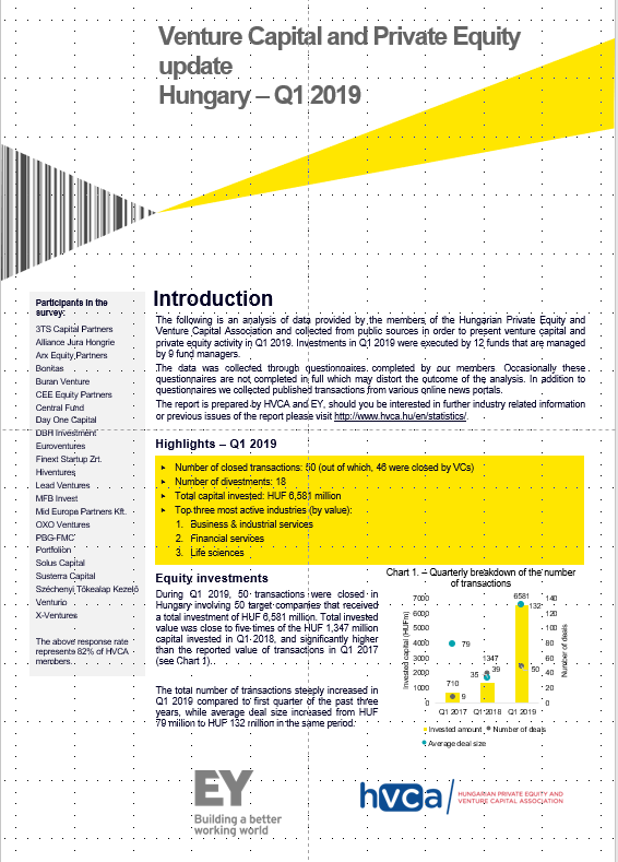 Investment Monitoring Report Q1 2019